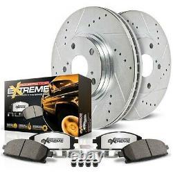 K15166dk-36 Powerstop Brake Disc And Drum Kits 4 Roues Réglées Avant Et Arrière Nouveau