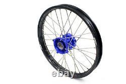 Kek 17''14'' Small Kid's Wheels Rims Set For Tc85 85 Sx 2003-2020 Mini Blue Hub