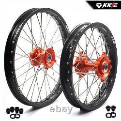 Kke 1.417/1.614 Kids Small Wheels Rims Set Fit 85 Sx 2003-2020 Mc85 Mini Hub