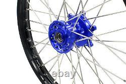 Kke 21/18 Enduro Cush Drive Wheels Rims Set For Suzuki Drz400sm Drz400s Drz400e