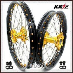 Kke 21/18 Enduro Roues Ensemble Pour Suzuki Drz400s Drz400sm Drz400e Drz400 Drz400s