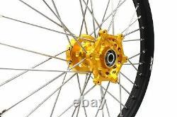 Kke 21 18 Enduro Wheel Rim Set Fit Suzuki Drz400 Drz400e Drz400s Drz400sm Or