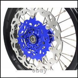 Kke 3.5/4.25 Cush Drive Supermoto Wheels Rims Set For Suzuki Drz400sm With Disc
