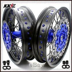 Kke 3.5 / 4.25 Ensemble De Roues Supermoto Pour Le Disque Avant 310mm Suzuki Drz400sm 2005-2018