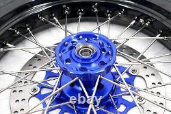Kke 3.5/4.25 Jantes De Roues De Moto Supermoto Jeu De Pneus Fit Suzuki Drz400sm 2021