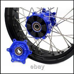 Kke 3.5/4.25 Supermoto Cush Drive Wheel Rim Set For Suzuki Drz400e 400s 400sm