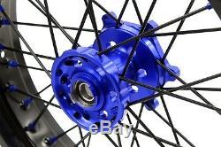 Kke 3,5 / 4,25 Supermotor Roues Set Pour Suzuki Drz400s Drz400sm Drz400e Drz400