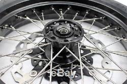 Les Pneus Kke 3.5 / 4.25 Drz400sm 2005-2018 Supermoto Cst Sont Réglés Pour Le Noir Suzuki