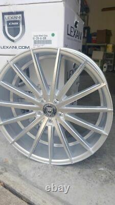 Lexani Pegasus Wheels 22x9 Silver Rims Ensemble De 4