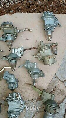 Lot De 18 Pompes À Carburant Nos Vintage