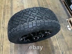 Lot De 5 20 D560 Carburant Vapeur Roues 285 / 55r20 Paquet Jeep Wrangler Jk Jl