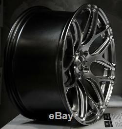 Mrr Gf9 Roues Pour Mercedes C250 C300 C350 C400 Jantes 19x8.5 / 19x9.5 19 Pouces Ensemble 4