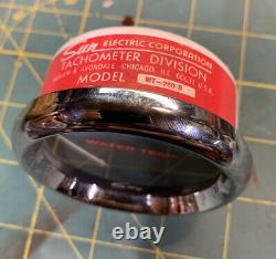 Nos Nib Soleil Température De L'eau Temp Gauge Wt-260b Stewart Warner Hot Rat Rod Scta