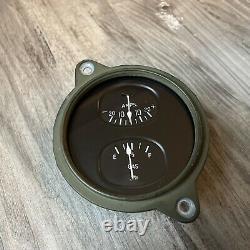 Nos Stewart Warner Ampoules De Carburant Duplex Instrument Gauge Panel Dash Hotrod Scta Trog