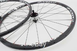 Nouveau! Easton Ec90 Slx Fibre De Carbone Vélo De Route Roues 700c Tubulaire Rim Frein