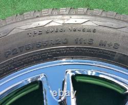 Nouveau Gmc Yukon Denali Wheels Tires Set 4 Oem Factory Style Chrome 20 Sierra 5304