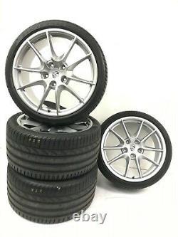 Porsche 991 C2 C2s Carrera S (iii) 20 Jantes Aluminium + Pirelli P Zero Pneus
