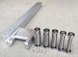 Porte-molette, 5 Petites Roues, Bras Porte-outil En Aluminium 6061