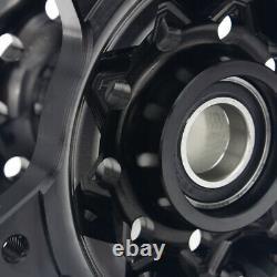 Pour Suzuki Front & Rear Wheel Hubs Set Drz400sm 05-17 Drz400s 00-17 Drz 400 S E