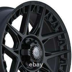 Roues 4play 4ps50 20x9 & 275/60r20 Terra Grappler Set Pour Ram Chevy Gmc Ford