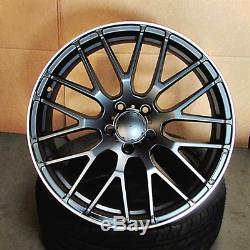 Roues En Mesh 19x8,5 / 19x9,5 Pour Mercedes S430 S500 S550 E320 E500 19 Pouces Ensemble 4