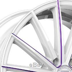 Roues Lexani Pegasus 1pc 22x9 (40, 5x114.3, 74.1), Jantes Argentées, Ensemble De 4