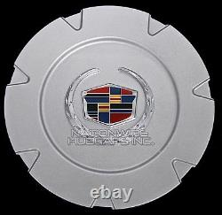 S'adapte 2007-14 Cadillac Escalade 18 Aluminium Wheel Center Hub Caps Rim Cover Hubs