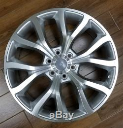 Set Of 4 Nouveau Ford F150 20x9 6x135 +25 Silver Machine Wheels Expedition Replica
