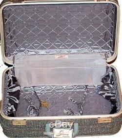 Skyway Luggage Set De 3 Etiquettes De Bagages Petit Moyen Grand Bleu Argent Roues