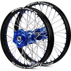 Sm Pro Wheel Set Motocross Cr Crf Kx Kxf Yz Yzf Rm Rmz Ktm Honda En Stock