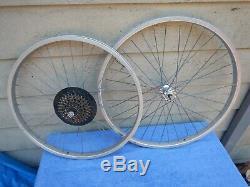 Spécialisé Vintage 26/24 Montagne Bmx Vélo Wheelset Roues Cannondale Sm500