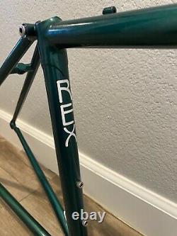 Steve Rex Brazed Steel And Wheelset, X-sm Road Hybrid Cruiser 38cm X 46cm
