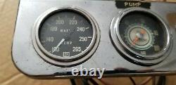 Stewart Warner 2 1/16 Jauge Kit Water Temp Oil Pressure Blue Line Vintage Yenko