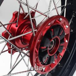 Suzuki Drz400sm 05-17 Drz400 00-04 Ensemble De Roues Complet 3,5 / 4,25 X 17