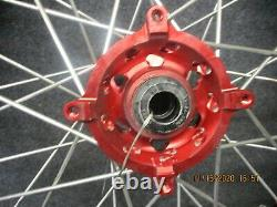 Suzuki Rmz250 Rmz450 2010-2020 Nouveau Sm Pro 21 + 19 Noir / Rouge Ensemble De Roues Rm3828