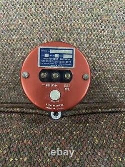 Tachomètre 8k Stewart Warner Des Années 1960 Avec 2 Unités D'envoi Vintage