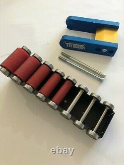 Tr Maker Ceinture Grinder 2x72 Petite Roue Set & Support Pour Rectifieuses Couteau En Caoutchouc Pr