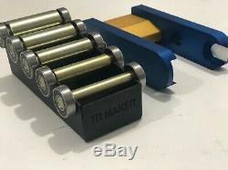 Tr Maker Grinder Belt 2x72 Petit Ensemble Et Porte-roue Pour Kit Rémouleurs Bleu