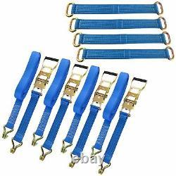 Transporteur De Voiture / Ensemble De Bracelet De Récupération / Ratchet Roue Brace Bridging Sm001 Sm006