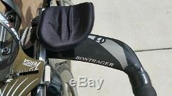 Triathlon Tt Trek Speed concept 2011 9,8 Carbone, Petit Modèle 2011 Avec Ensemble De Roues Zipp 404