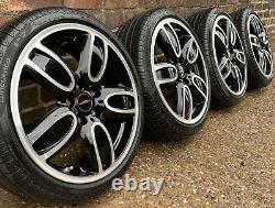 Véritable Mini Cooper S 18 Jcw Cup Alliage Roues 509 Pirelli Pneus 7mm F55 F56