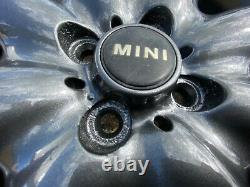 Véritable Oem Mini Cooper S R53 Roues En Alliage + Pneumatiques Anthracite Foncée Métallique